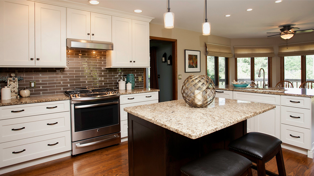 Double Island Kitchen Remodeling Naperville