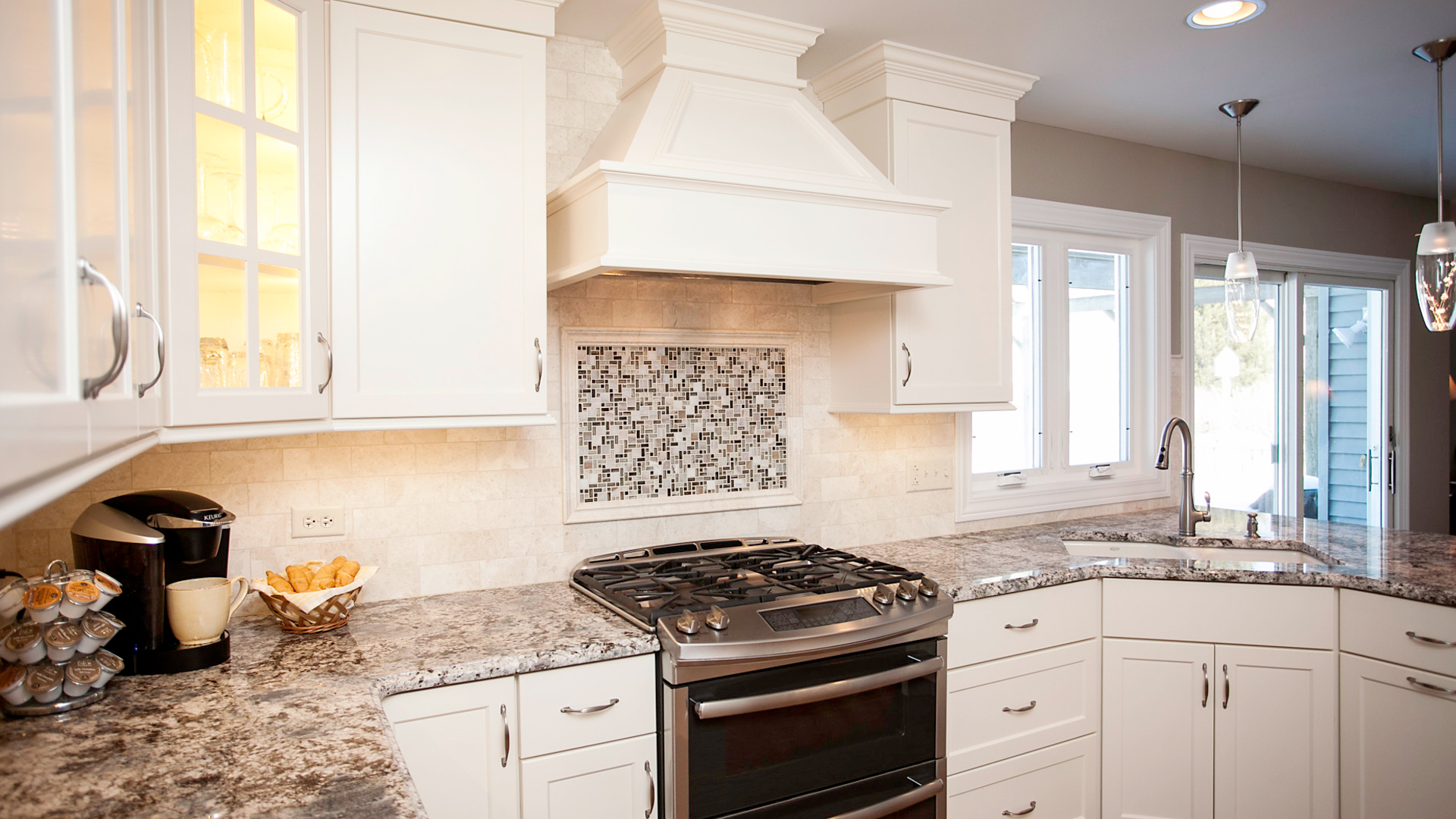 Shaker Kitchen With Contemporary Flair | River Oak Cabinetry & Design