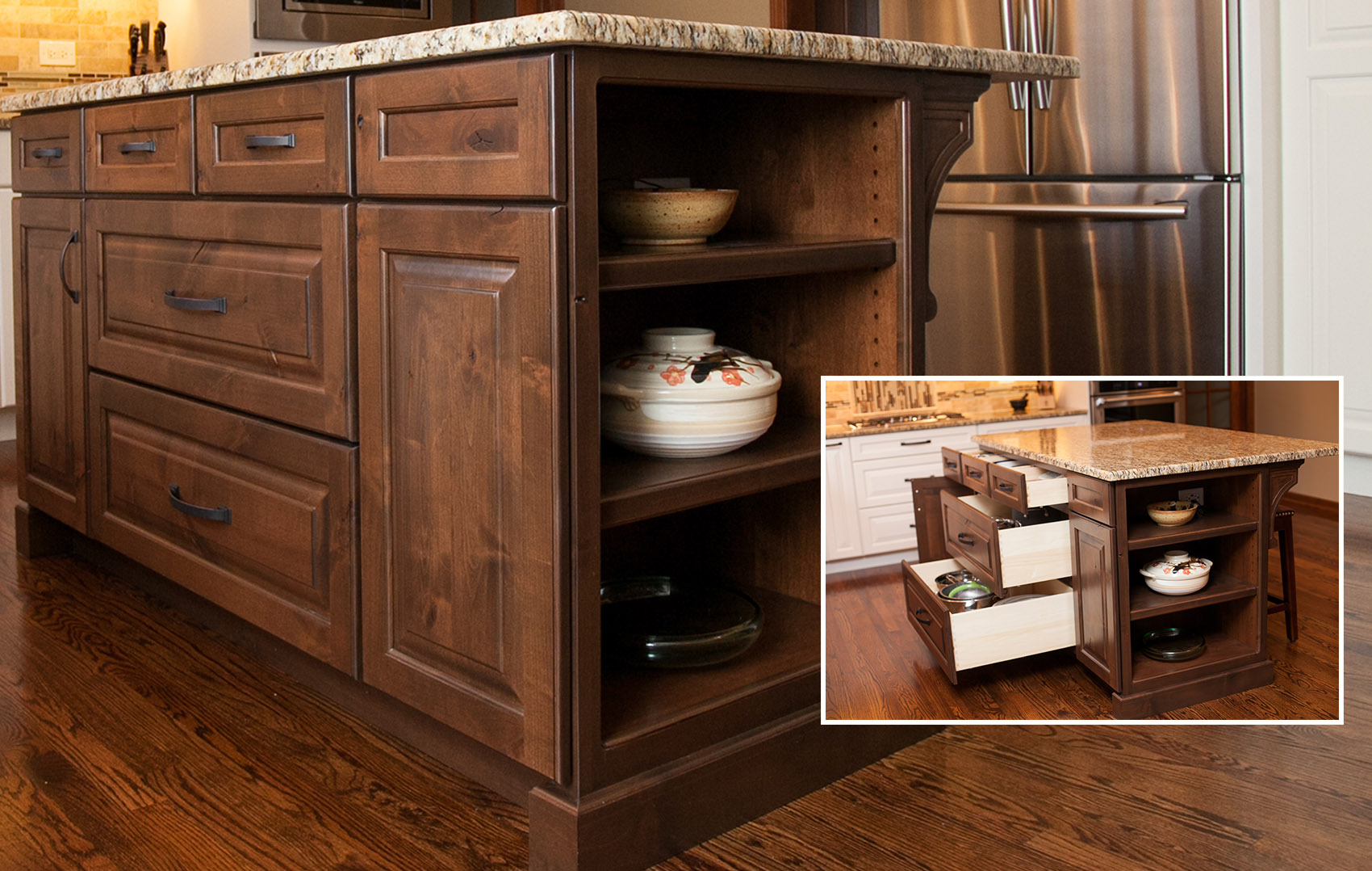 Height Of Kitchen Cabinet Drawers