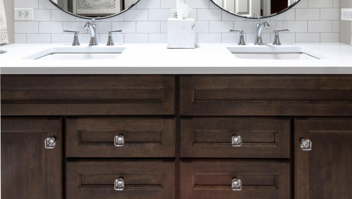 Rustic Elegance In Naperville River Oak Cabinetry Design